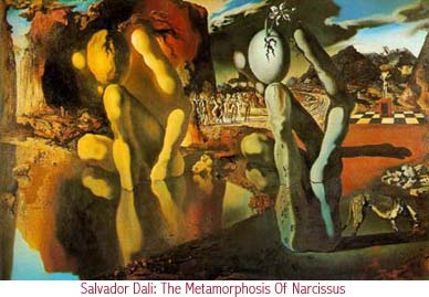 Salvador Dali - The Metamorphosis Of Narcissus