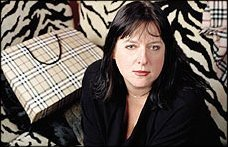 Julie Burchill and Burburry