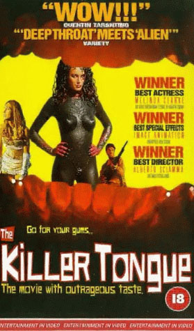Killer Tongue UK video cover