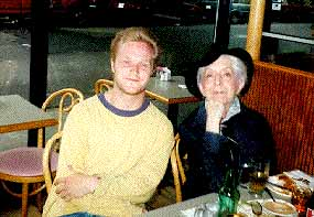 Quentin Crisp and Dr Jake Eyers