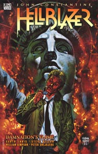 Hellblazer UK cover