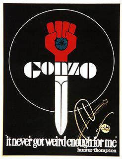 Gonzo logo - via Wikipedia