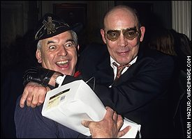 Ralph Steadman and Hunter S Thompson