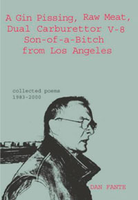 Cover of poetry book by Dan Fante